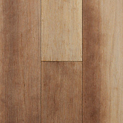 Fair Isle Strand Smooth Wide Plank Float Engineered Bamboo Flooring - Lifetime Warranty
